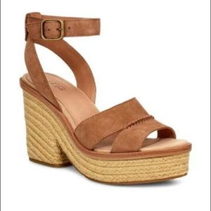 BRAND NEW. UGG Block Heel Sandals